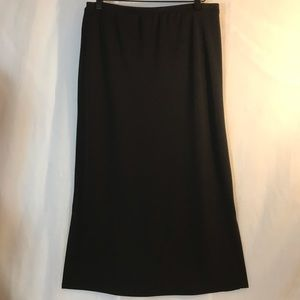 John Paul Richard Black Long Uniform Skirt